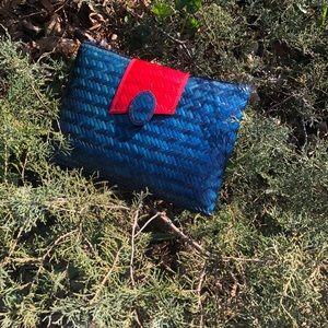 Handbags - Clutch Straw Bag